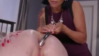 Do Not Inform Parent! Step Mother Showcases Lily Lovecraft How One Can Be An Rectal Bi-atch